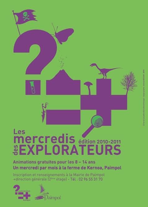 Carte Au Tresor Paimpol.Les Mercredis Des Explorateurs A Paimpol Edition 2010 2011 Les