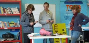 Animation d'ateliers sur les préjugés et le vivre ensemble