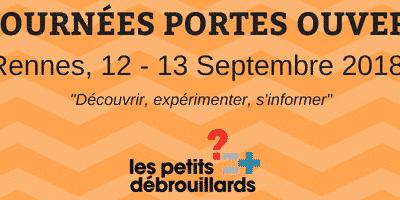 Rennes : Journées Portes Ouvertes le 12-13 Septembre !