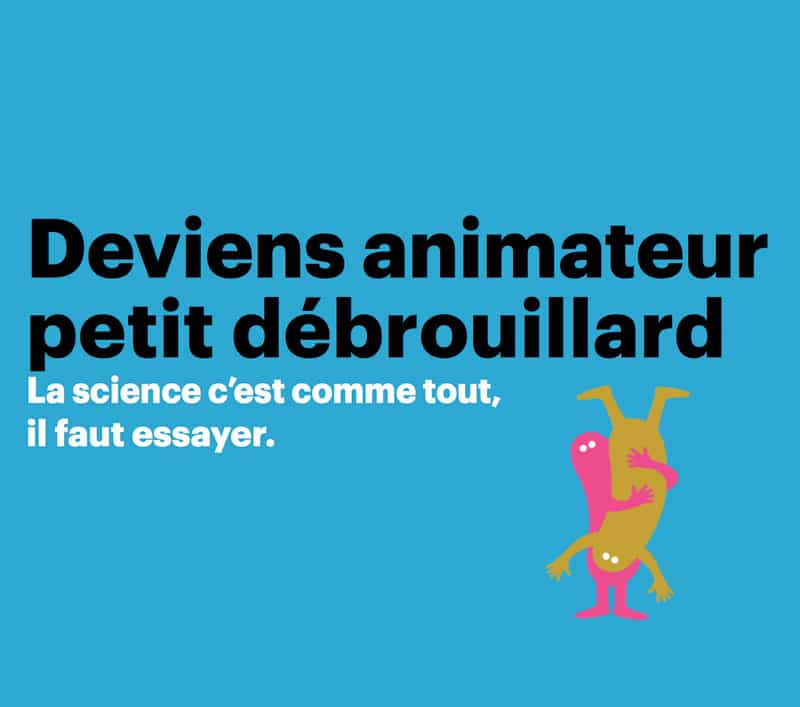 Nantes⎜Formation à l'animation scientifique : du 21 au 25 Septembre 2020