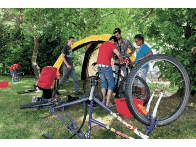 QUIMPER – Ateliers ORNIs, venez donner ou recevoir, démonter ou réparer des vélos, patins, skates etc.