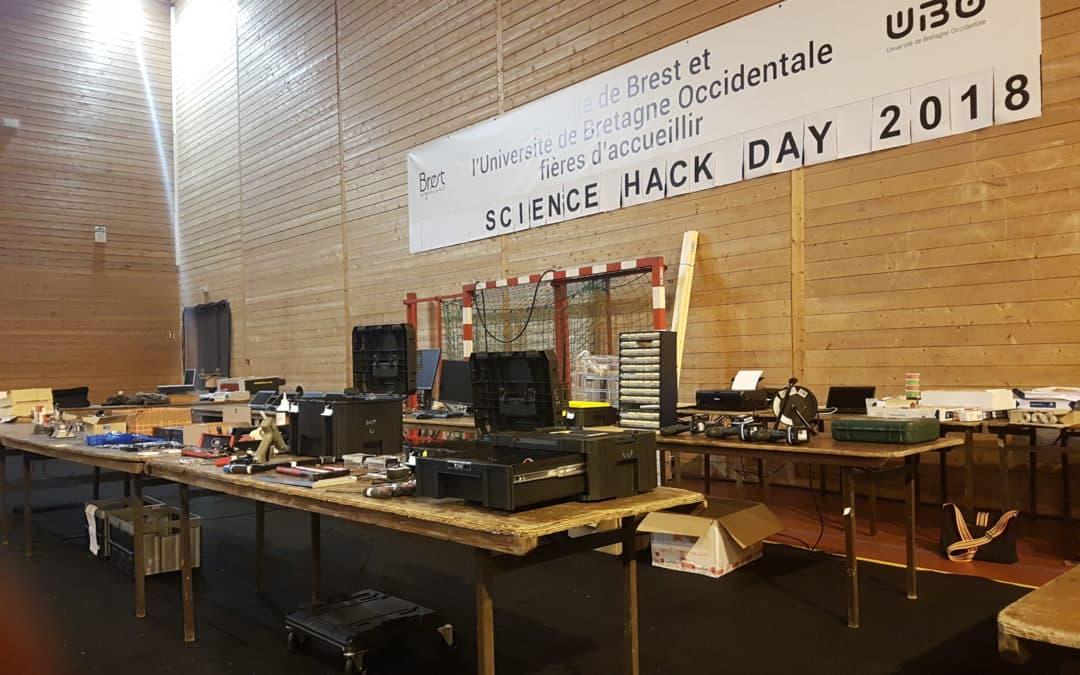 Science Hack Day 2018 – Des projets innovants pour le Brest de demain !