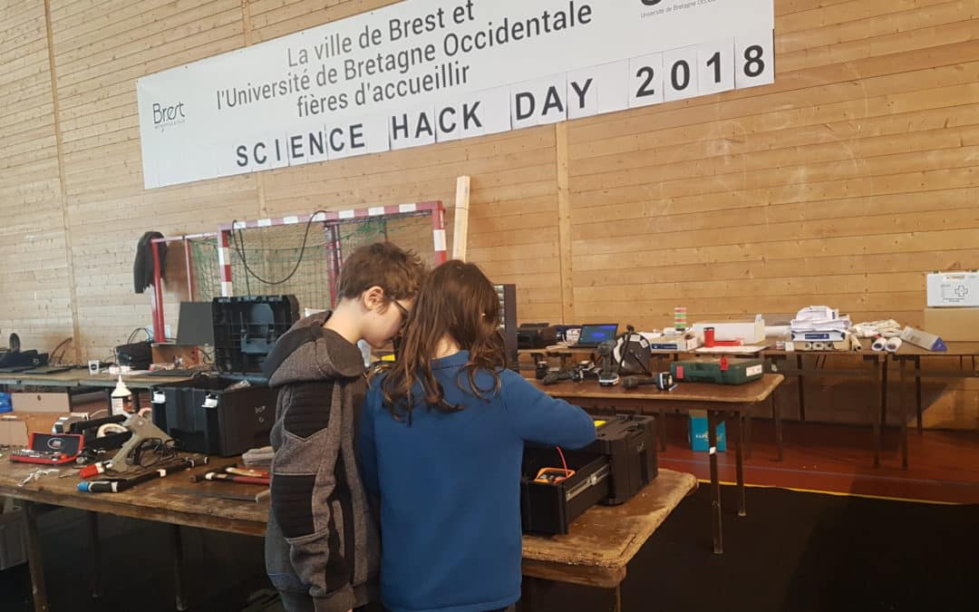 Le Science Hack Day vu par les enfants !
