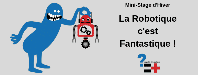 """Mini-Stage """"La Robotique c'est fantastique"""""""