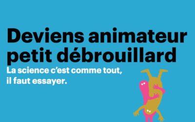 [Quimper]  Deviens animateur.trice Petits Débrouillards – Toussaint 2020