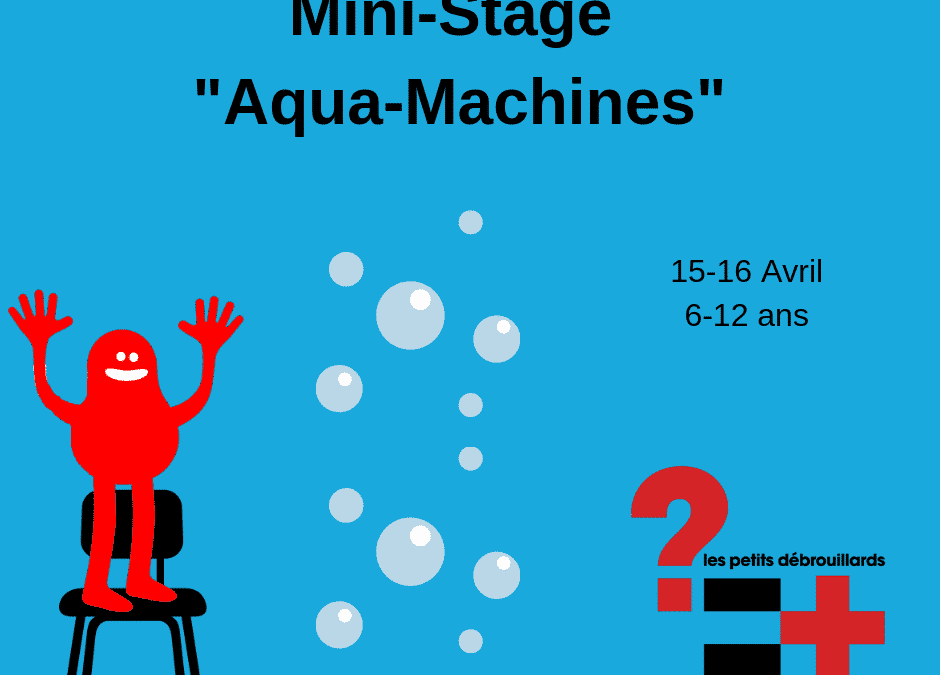 "Mini-Stage ""Aqua-Machines"""