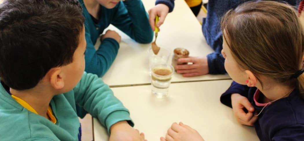 Le cycle de l'eau du bassin rennais expliqué aux enfants