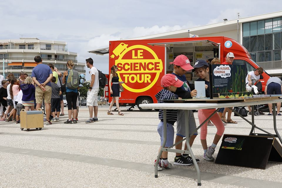 Le Science tour Littoral arrive à Jard sur Mer !
