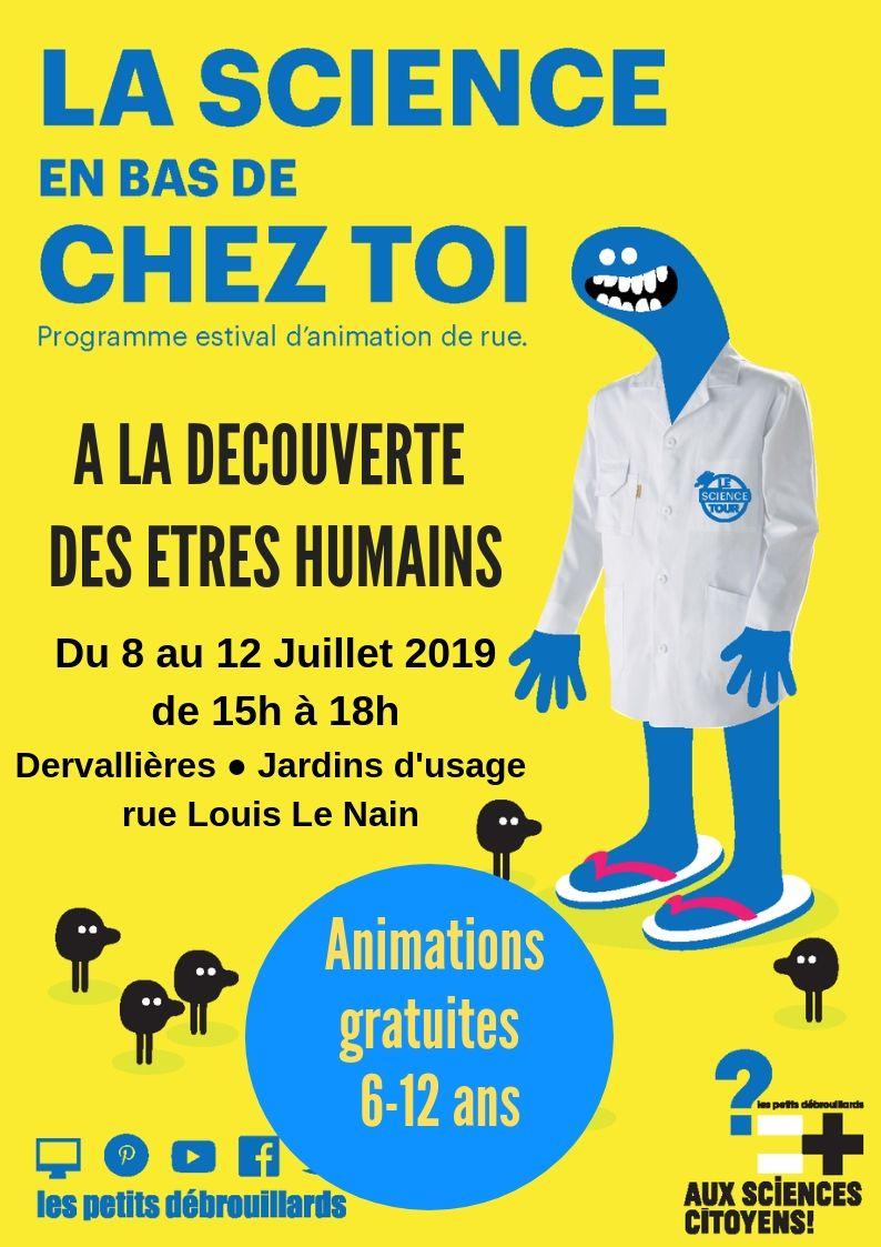 Nantes - A la découverte des êtres humains