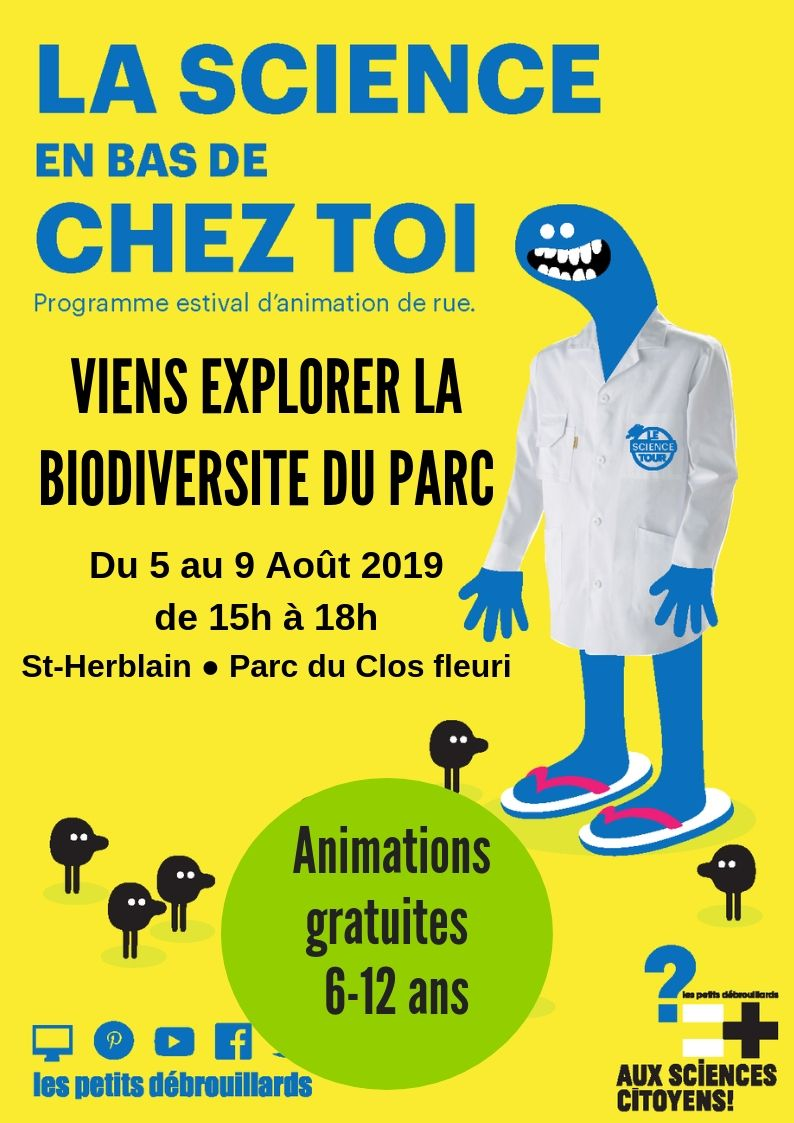 Nantes. Exploration de la biodiversité