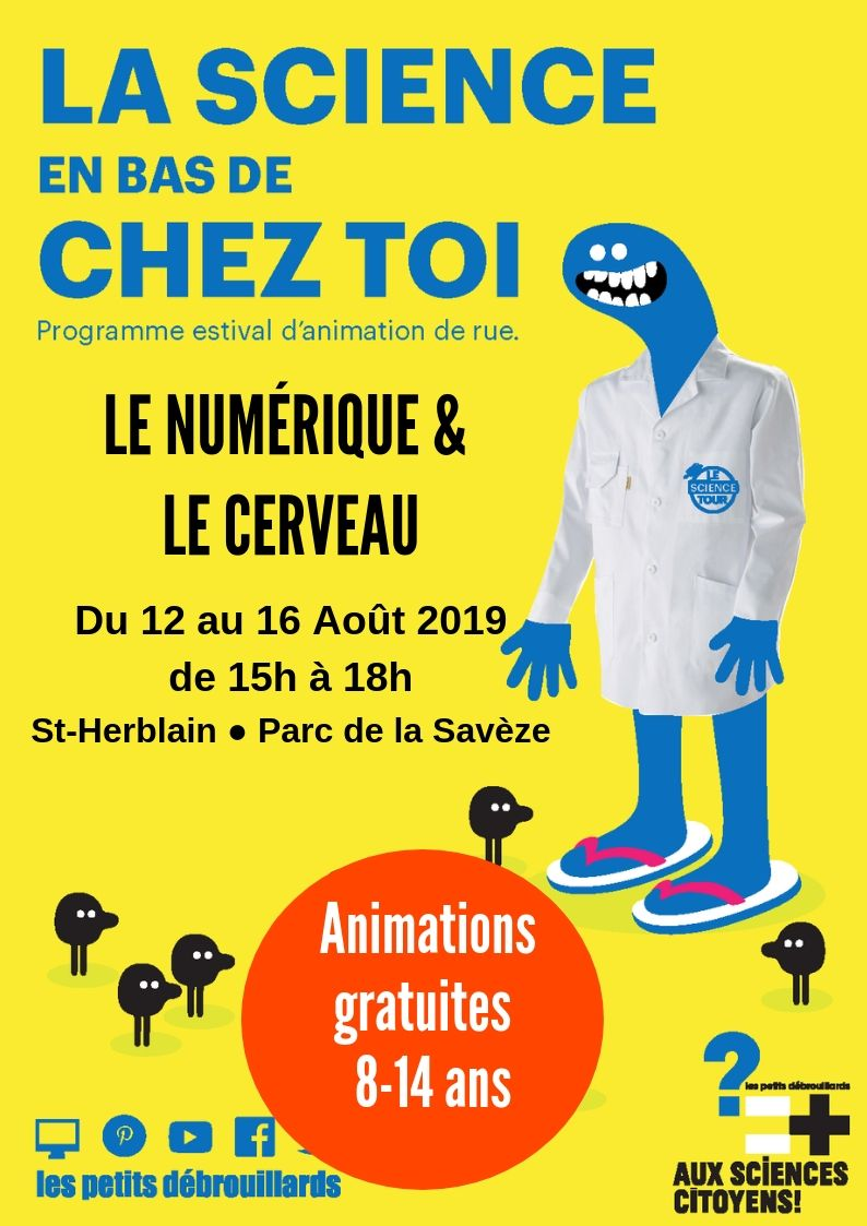 Nantes. Le numérique & le cerveau