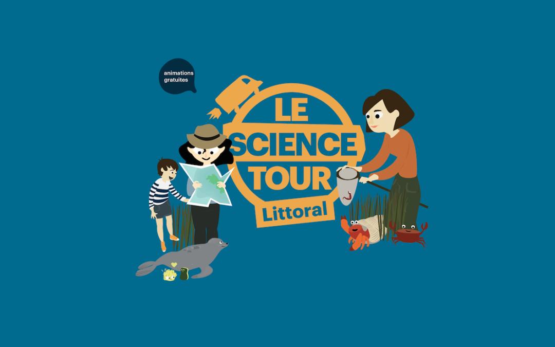 Loire-Atlantique. Le Science Tour Littoral à La Plaine-sur-Mer