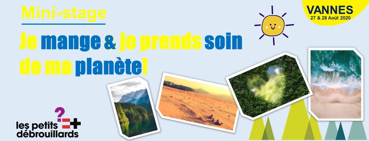 Vannes - Mini-Stage: Je Mange & Je Prends Soin De Ma Planète ! - Vacances estivales