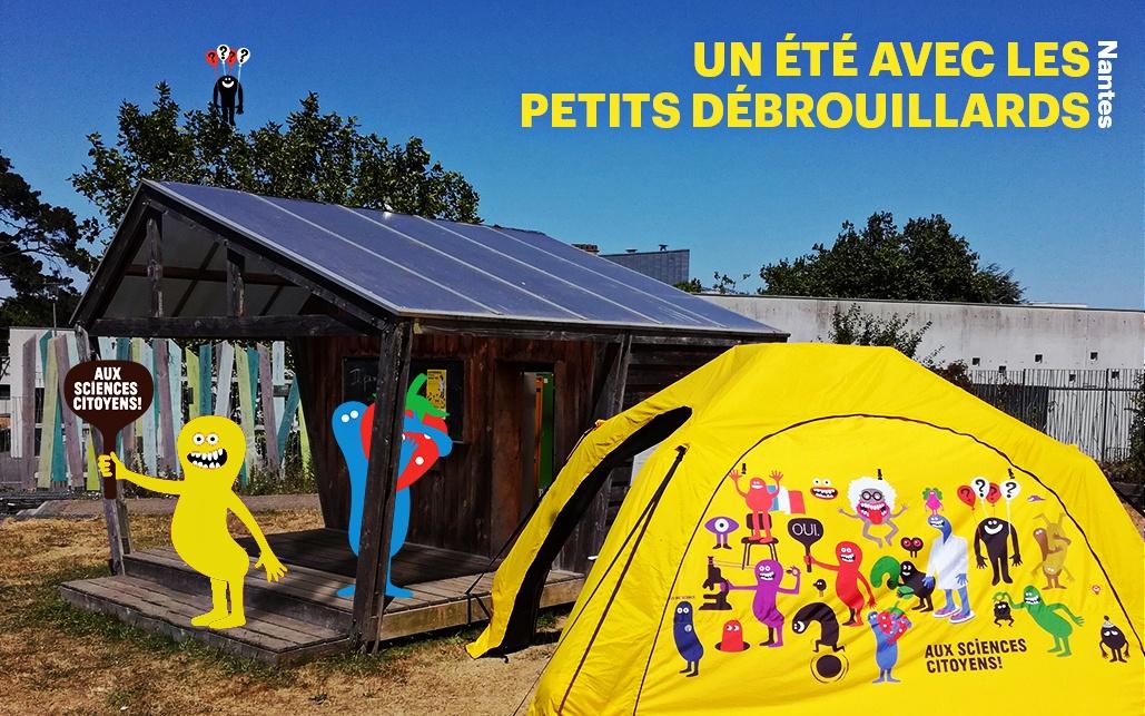 Nantes. Un été avec les Petits Débrouillards