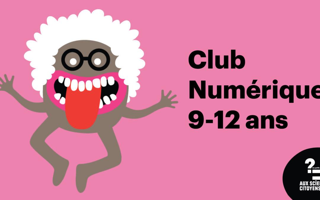 [BREST]Club numérique 9-12 ans