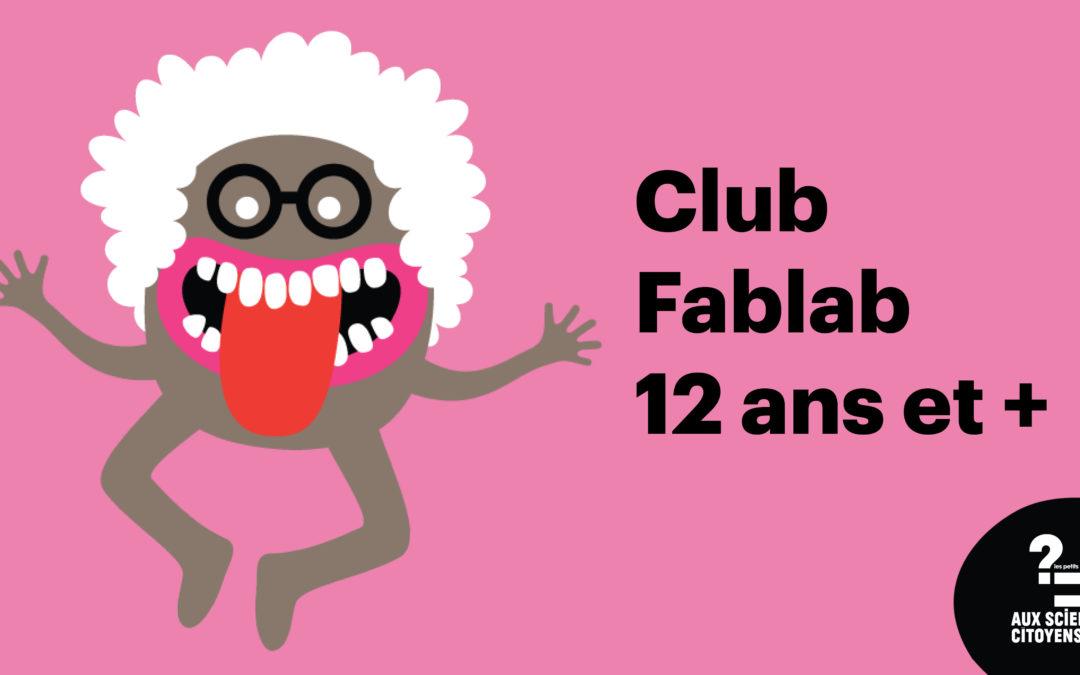 [BREST]Club Fablab 12+