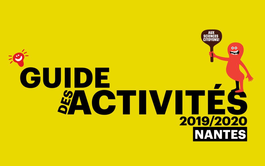 Nantes. Guide des activités 2019/2020