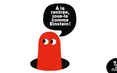 [BREST] À la rentrée, joue-la comme Einstein!