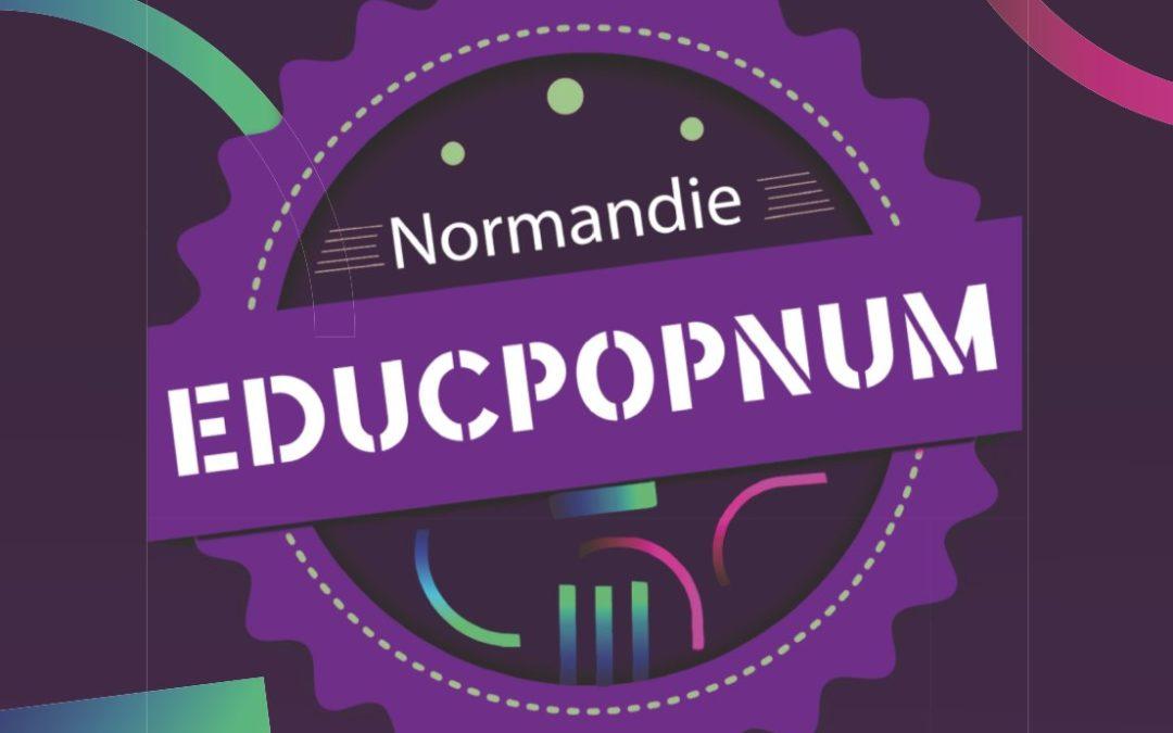 Des jeunes médiateurs du numérique à l'EducPopNum Day