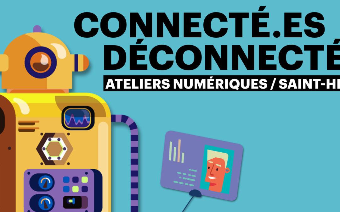 Nantes. Ateliers numériques à Saint-Herblain