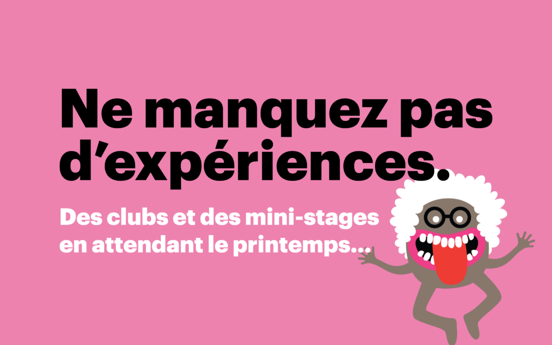 Clubs et mini-stages en attendant le printemps à Brest !