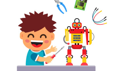 "Stage scientifique  pour les  8 – 12 ans : """"Ateliers makey-makey :  fabrication d'un gant musical à la Jean-Michel Jarre!"" """