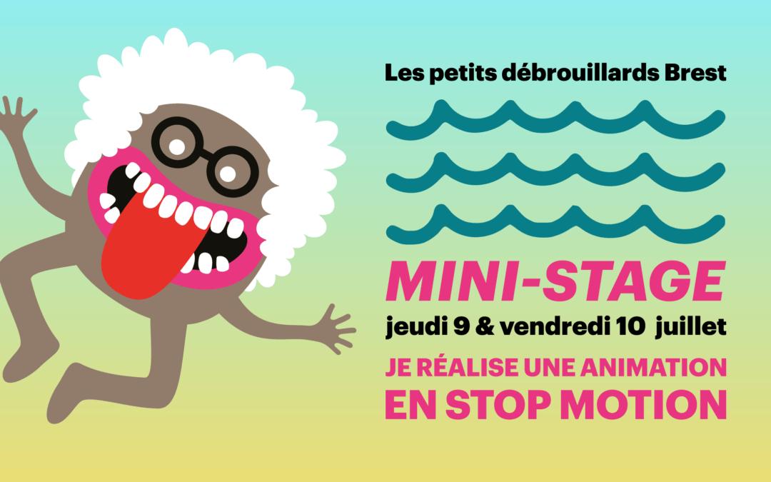 [BREST]MINI-STAGE9-12ANS: «Je réalise une animation en stop motion»