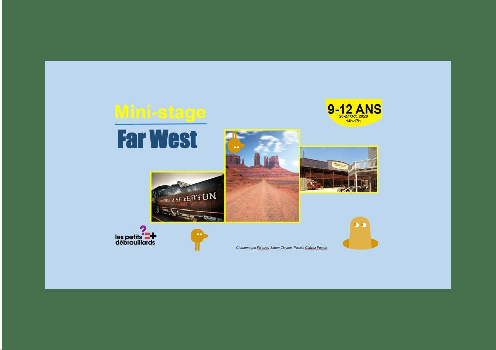 Vannes 9-12 ANS Mini-Stage Far West 26 & 27 Octobre 2020
