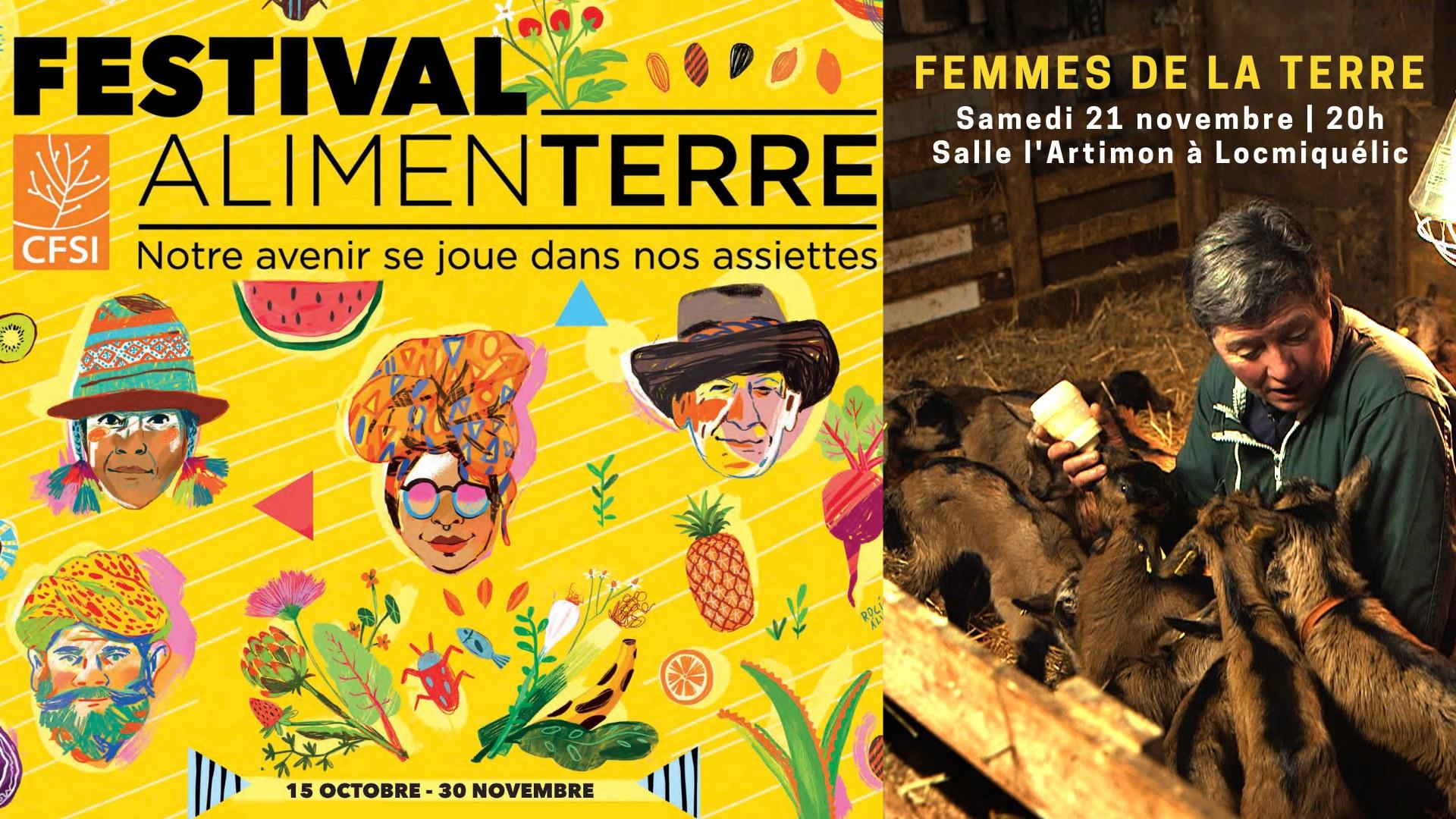 Festival Alimenterre - Projection-débat / Femmes de la Terre