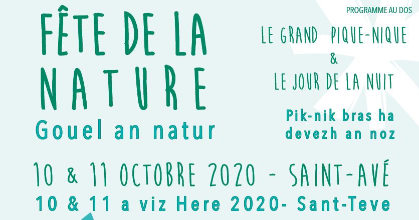 Fête de la Nature Dimanche 11 Octobre- Saint-Avé – 56