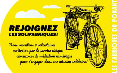 Brest. Appel à candidatures pour le volontariat SoliFabriques