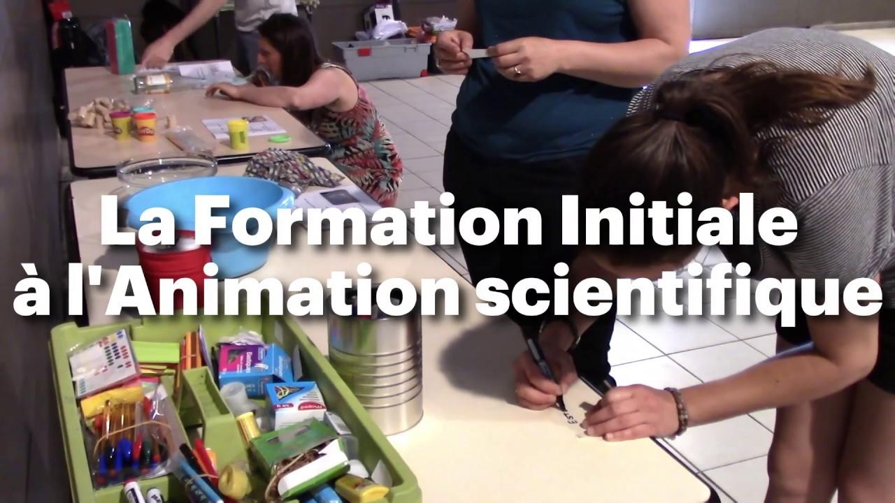 [Angers] - Formation à l'animation scientifique les 05-06 juin et 19-20 juin 2021