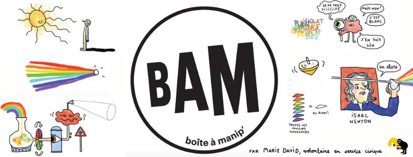 La science à la maison avec la Boîte A Manip' (BAM)