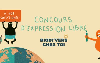 Nantes. [Biodi'vers chez toi] Concours d'expression libre