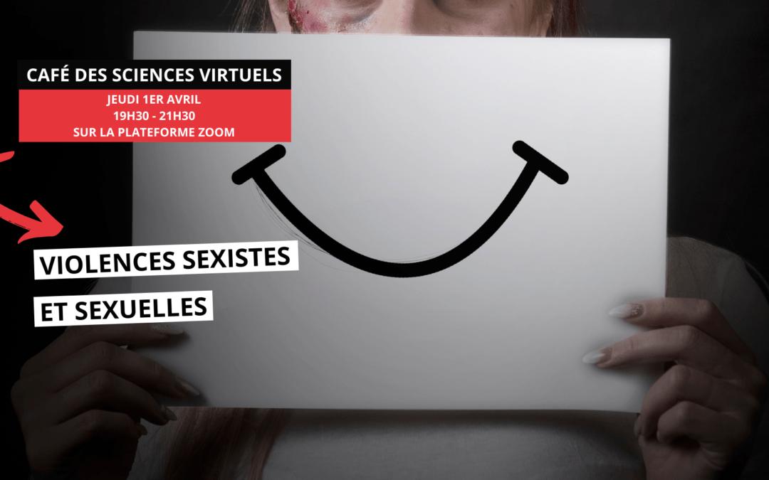 Café des sciences virtuels – Violences sexistes et sexuelles