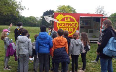 Retrouvez le Science Tour en Maine et Loire en reportages vidéos et radio