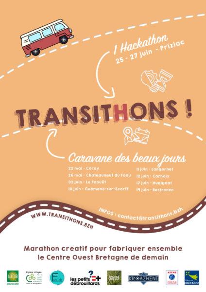 Affiche Transit(h)ons 2021