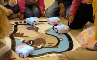 Le Mans. Retour sur notre atelier de découverte des robots Thymio en maternelle