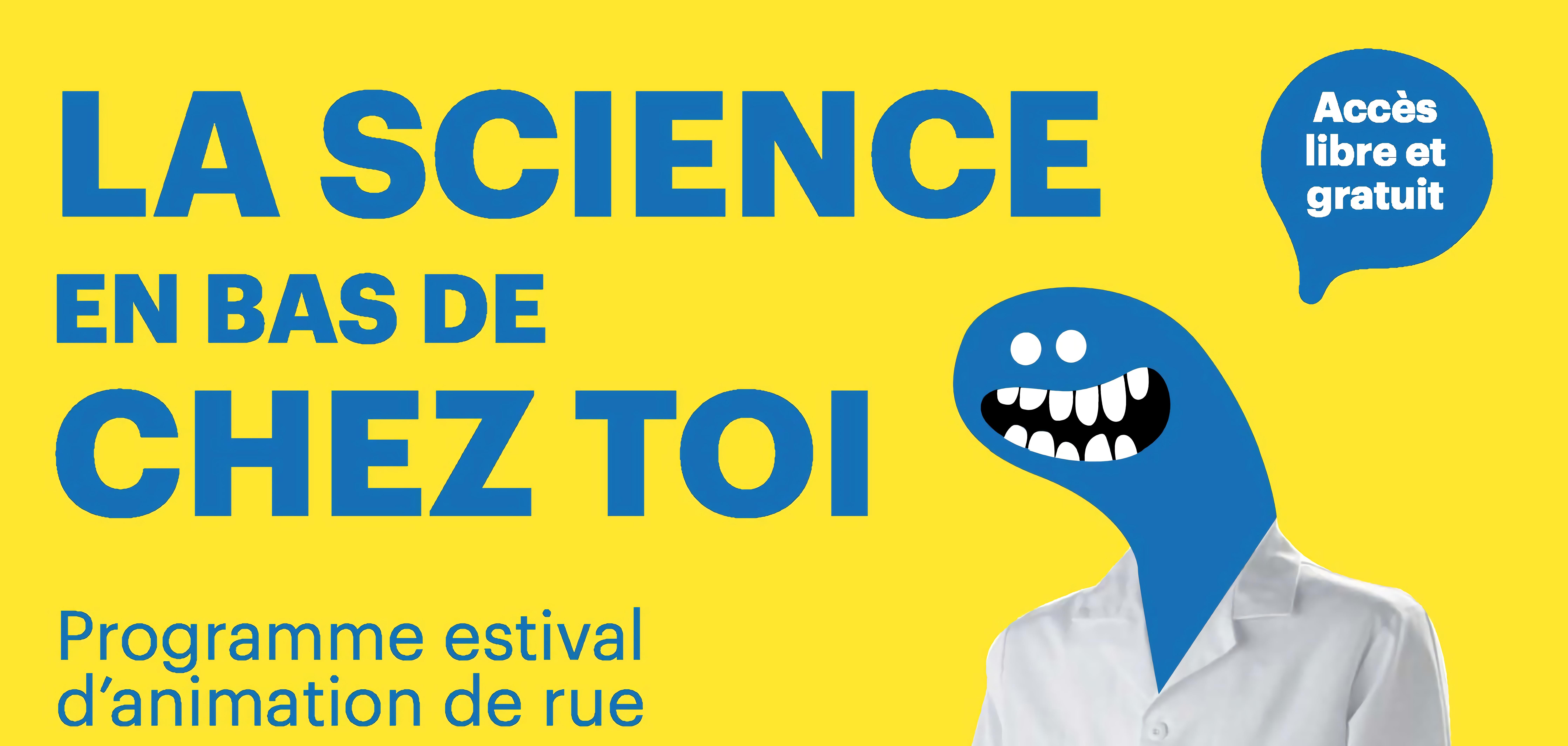 Nantes. Science en bas de chez toi à Bellevue (Egalité)