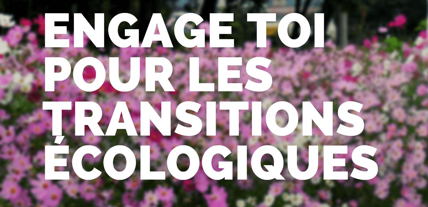Information collective Lorient #servicecivique Engage toi pour les Transitions écologiques