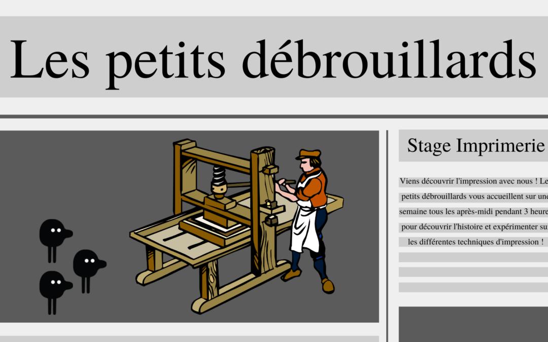 Nantes – Stage : Sur les traces de Gutenberg (6-12 ans)