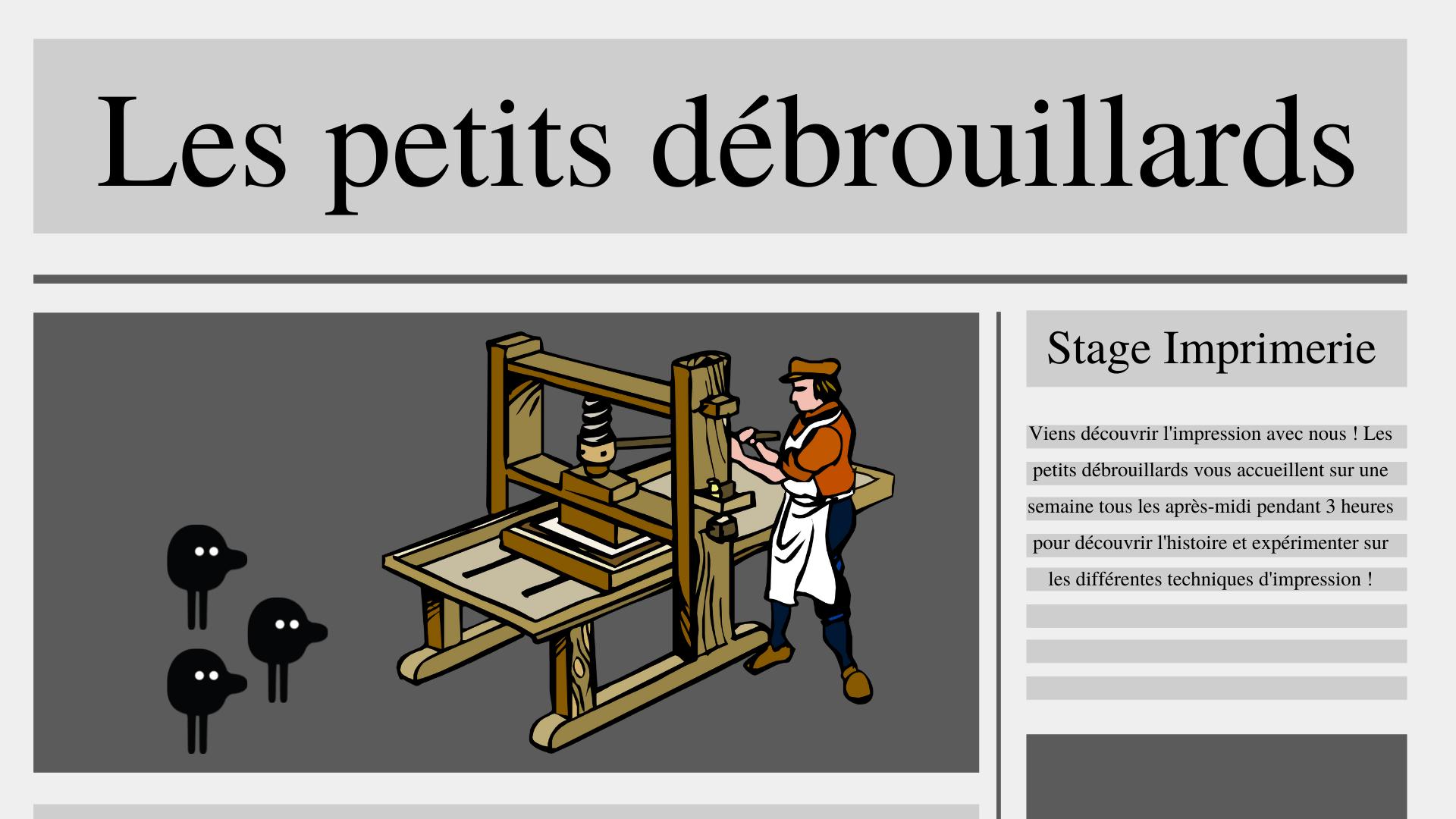 Nantes - Stage : Sur les traces de Gutenberg (6-12 ans)