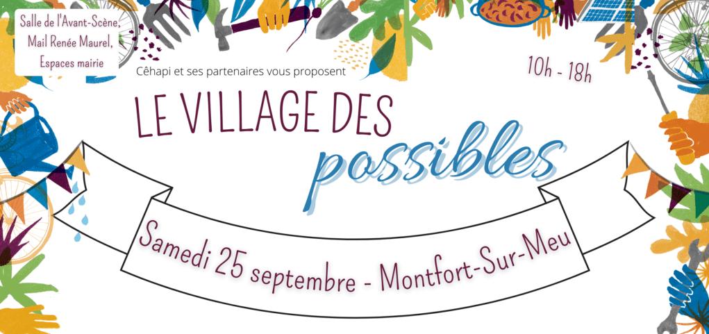 Village des Possibles à Montfort sur Meu