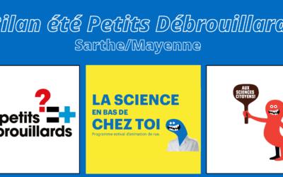 Sarthe/Mayenne L'Eté des Petits Débrouillards