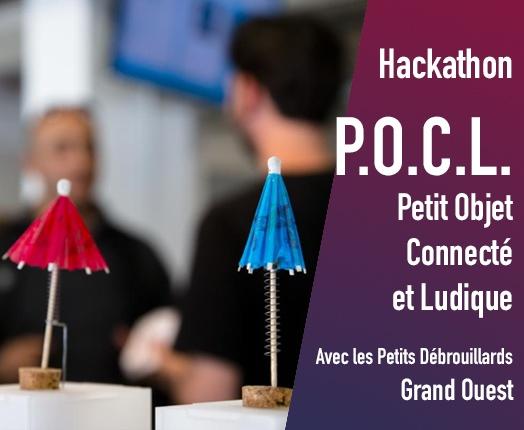 Pacticipez au [Hackathon] P.O.C.L. Petit Objet Connecté Ludique !