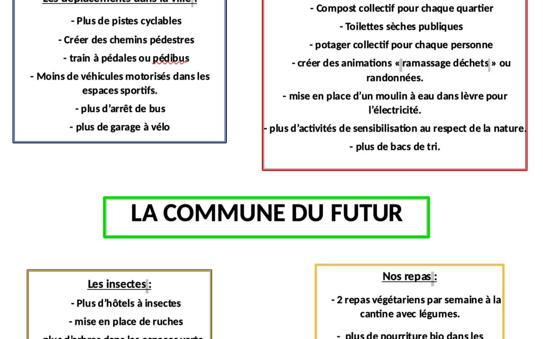 [Anjou] Des jeunes réuni.e.s en éco-parlement des jeunes à Montrevault sur Evre